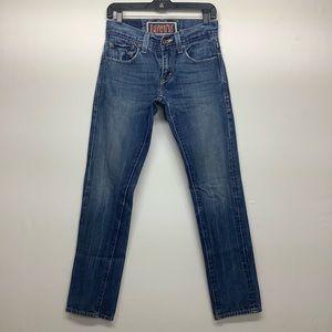 Levi's 511 Skinny 28x30 Medium-Blue Denim Jeans